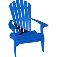 Phat Tommy Folding Recycled Poly Adirondack Patio Chair