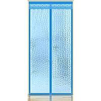 Insulated Door Curtain,Thermal Door Cover EVA Magnetic Screen Door Warm Winter Cool Summer,Pet/Kids Walk Through Freely…
