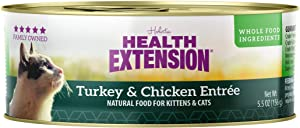 Health Extension Turkey & Chicken Entree Canned Wet Cat Food - (24) 5.5 Oz Cans