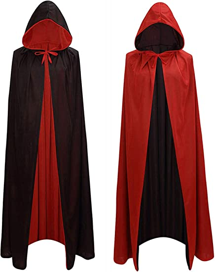 wizard vampires cloak magic robes Devil Long cospaly costumes black cloak Best
