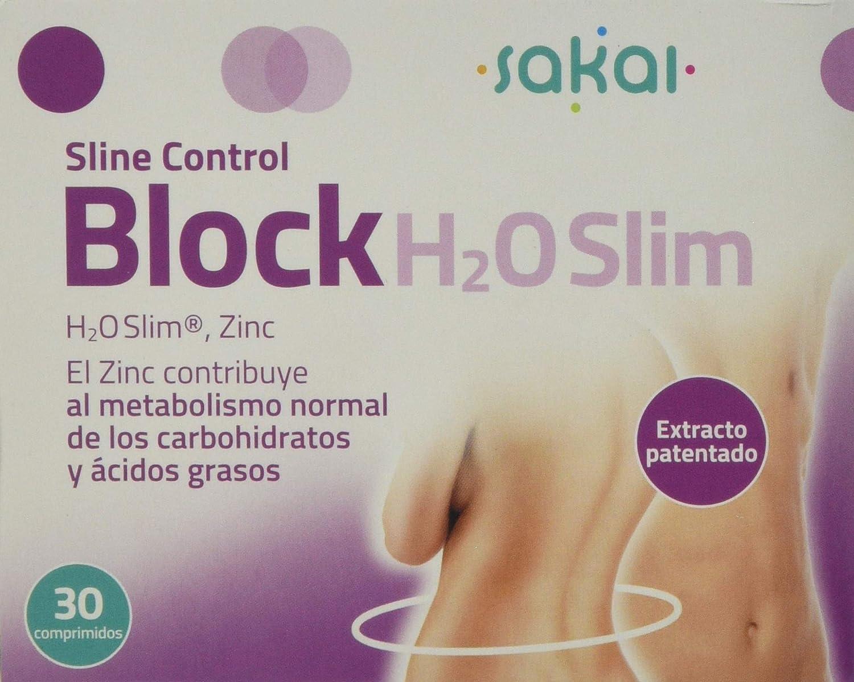 Sakai Sline Control Block H2O Slim - 30 Comprimidos: Amazon.es: Salud y cuidado personal