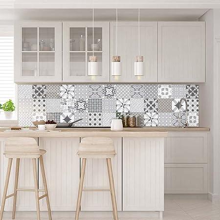 Stickers Muraux Cuisine Sticker Mural Carreaux De Ciment