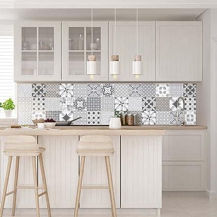 Beautiful piastrelle adesive per cucina contemporary for Piastrelle adesive brico