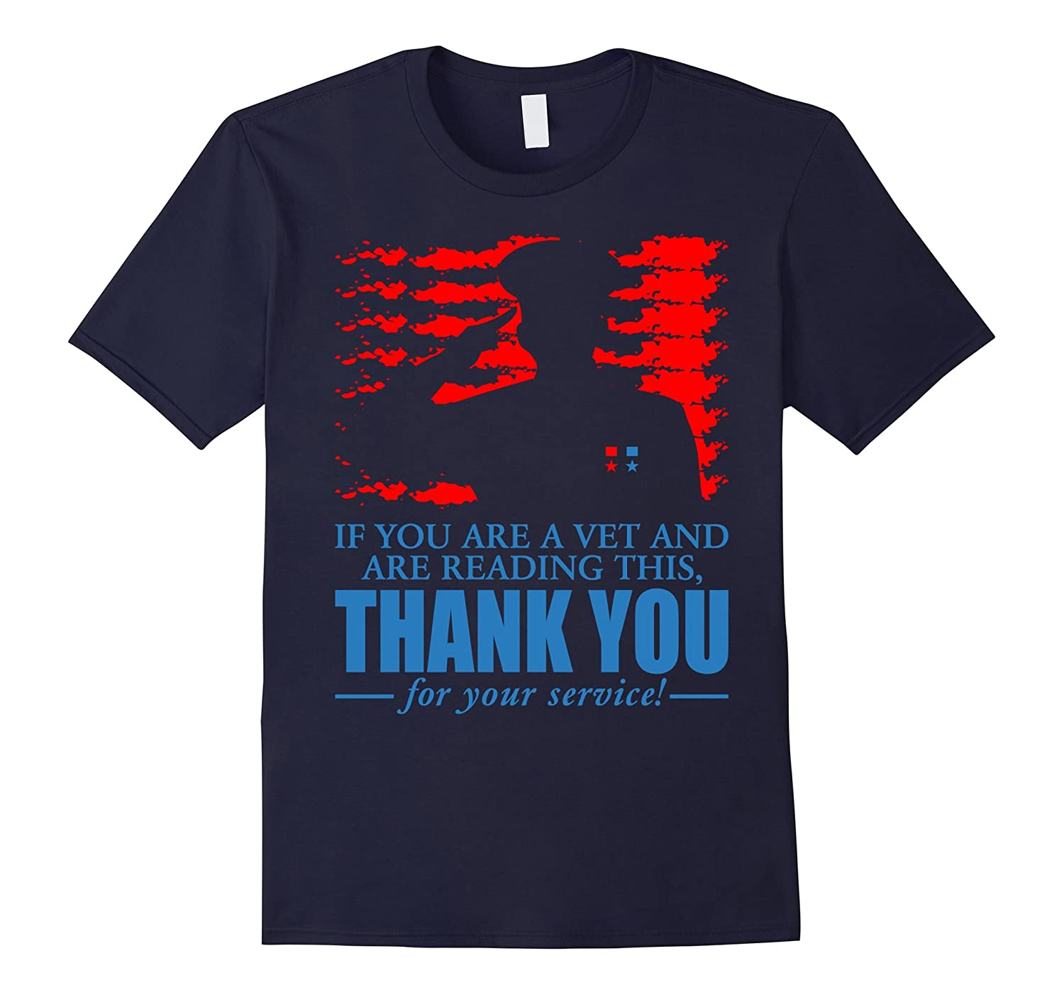 If You Are A Veteran Thank You For Your Service T-Shirt-TH