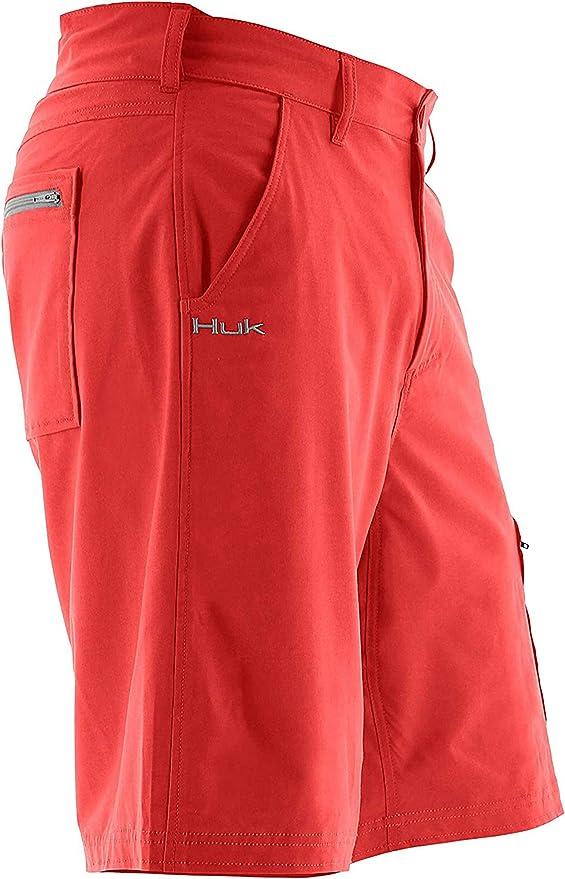 Huk Men/'s Rogue Seafoam Size XX-Large Adjustable Waistband Shorts