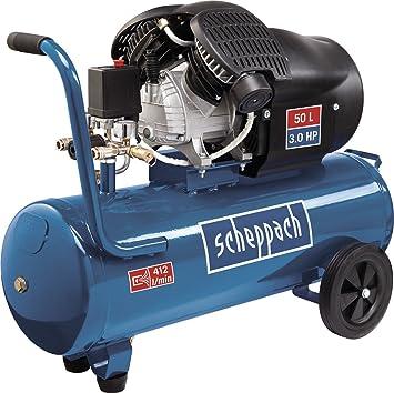 Scheppach 5906102901 Compresor de Aire de 2 Cilindros. 2200W ...