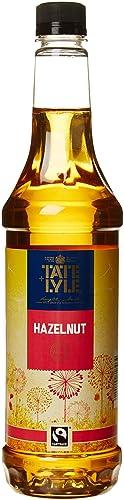Tate and Lyle Fairtrade Hazelnut Coffee Syrup 750ml