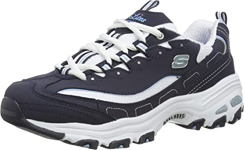Skechers D'Lites Biggest Fan, Scarpe da Ginnastica Donna