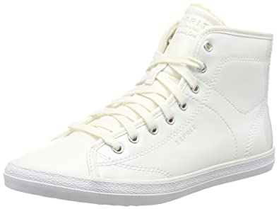ESPRIT Women s Miana Bootie High-top Trainers White Size  3.5 ... 5a98aa75c2