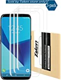 Galaxy S8 Plus Screen Protector, Taken [3-Pack][HD Ultra Clear Film] [Full Coverage] TPU Screen Protectors for Samsung Galaxy S8 Plus