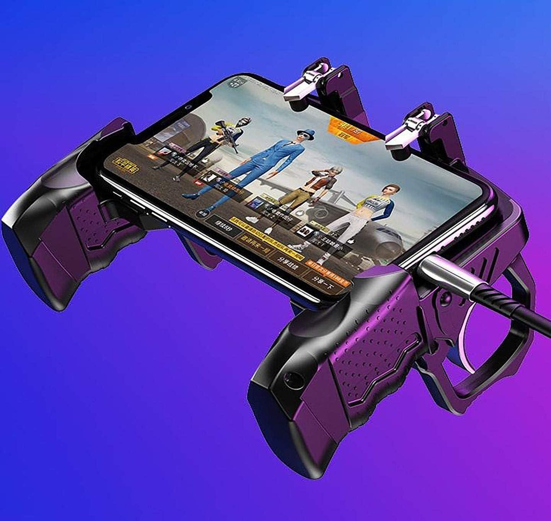 مقبض تحكم خاص بلعبة بابجي يلائم مقاسات جميع الهواتف المحمولة