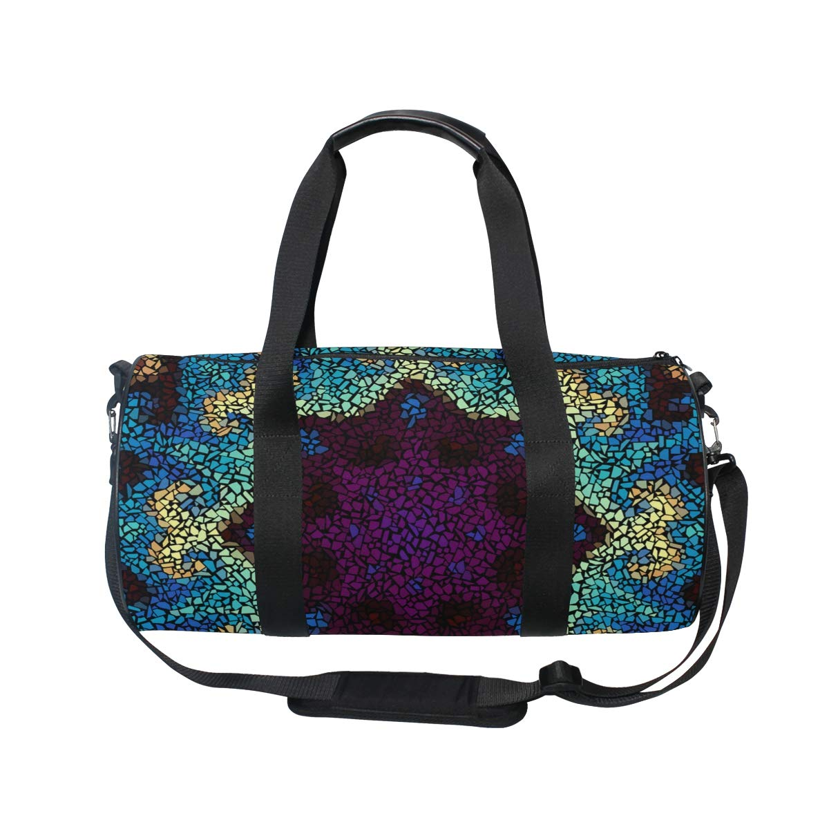 Galaxy Sketch Ceramic PictureWaterproof Non-Slip Wearable Crossbody Bag fitness bag Shoulder Bag