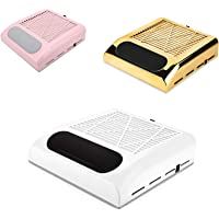 Mini Nail Stof Vacuüm Salon Manicures Ventilator Collector Cleaner Machine Verzamelen Schoonmaken, Krachtige Nail…