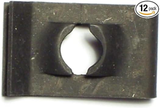 Pack of 12 8//32 U-Type Machine Screw Speed Nuts