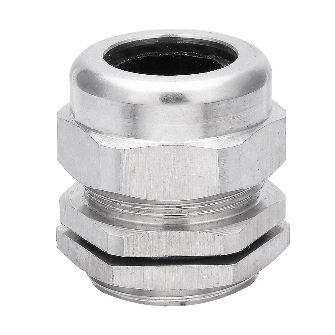 uxcell Cable Gland Waterproof G3/4 Stainless Steel Cable Glands Joints Adjustable Connector for 13-18mm Dia Cable