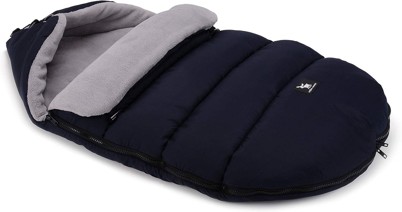 422 Moose Black-Black Cottonmoose Moose Saco de invierno dormir t/érmico para carrito silla de beb/é universal abrigo polar disponible en diferentes colores