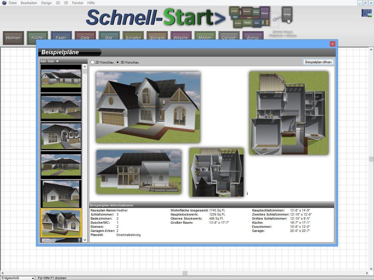 Architekt 3D X7 Home: Amazon.de: Software