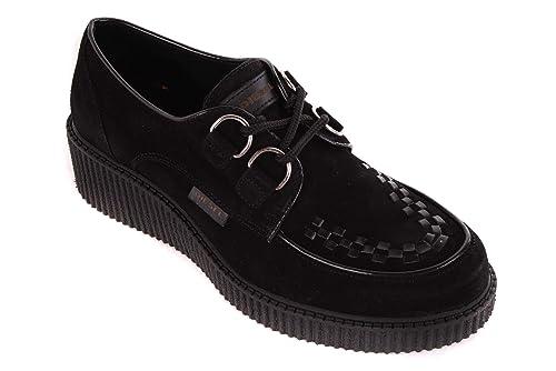 Diesel Zapatos de Dama Mocasines Taco de cuña Negros #14 - Negro, 37: Amazon.es: Zapatos y complementos