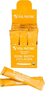 product image for Vital Proteins Organic, Free-Range Chicken Bone Broth Collagen (Stick Packs)