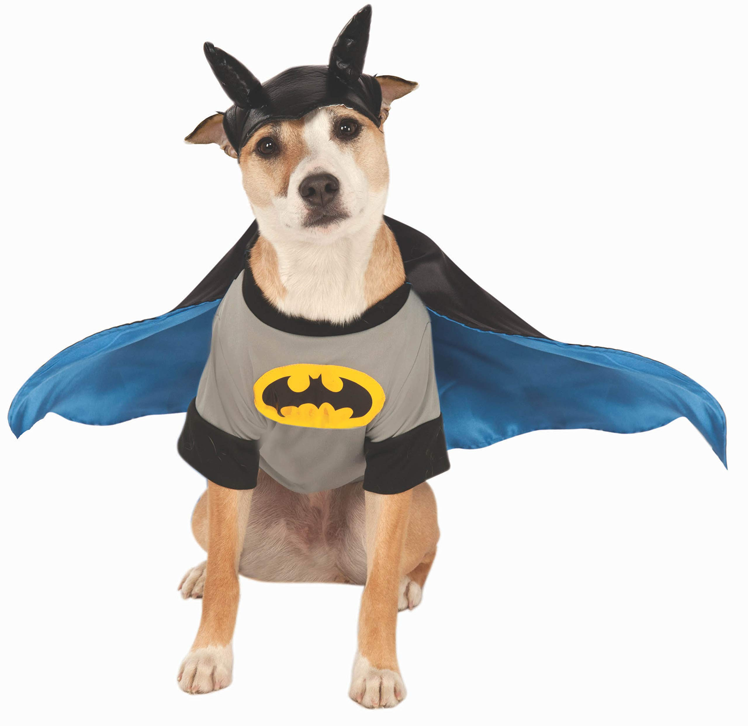 DC Comics Pet Costume, X-Large, Batman by Rubie's