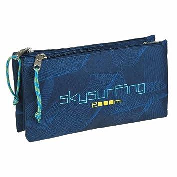 Estuche Escolar Triple Skysurfing by BUSQUETS: Amazon.es ...