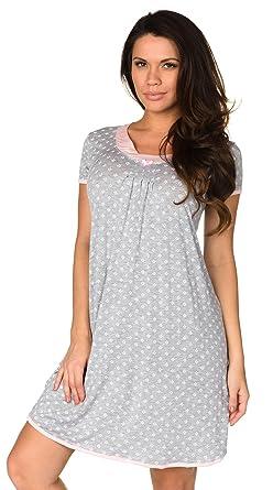 b766a1c02781 Velvet Kitten Simply Me Sleep Shirt Women s Sleepwear Nightgown Chemise  Night Dress Pajama (Grey