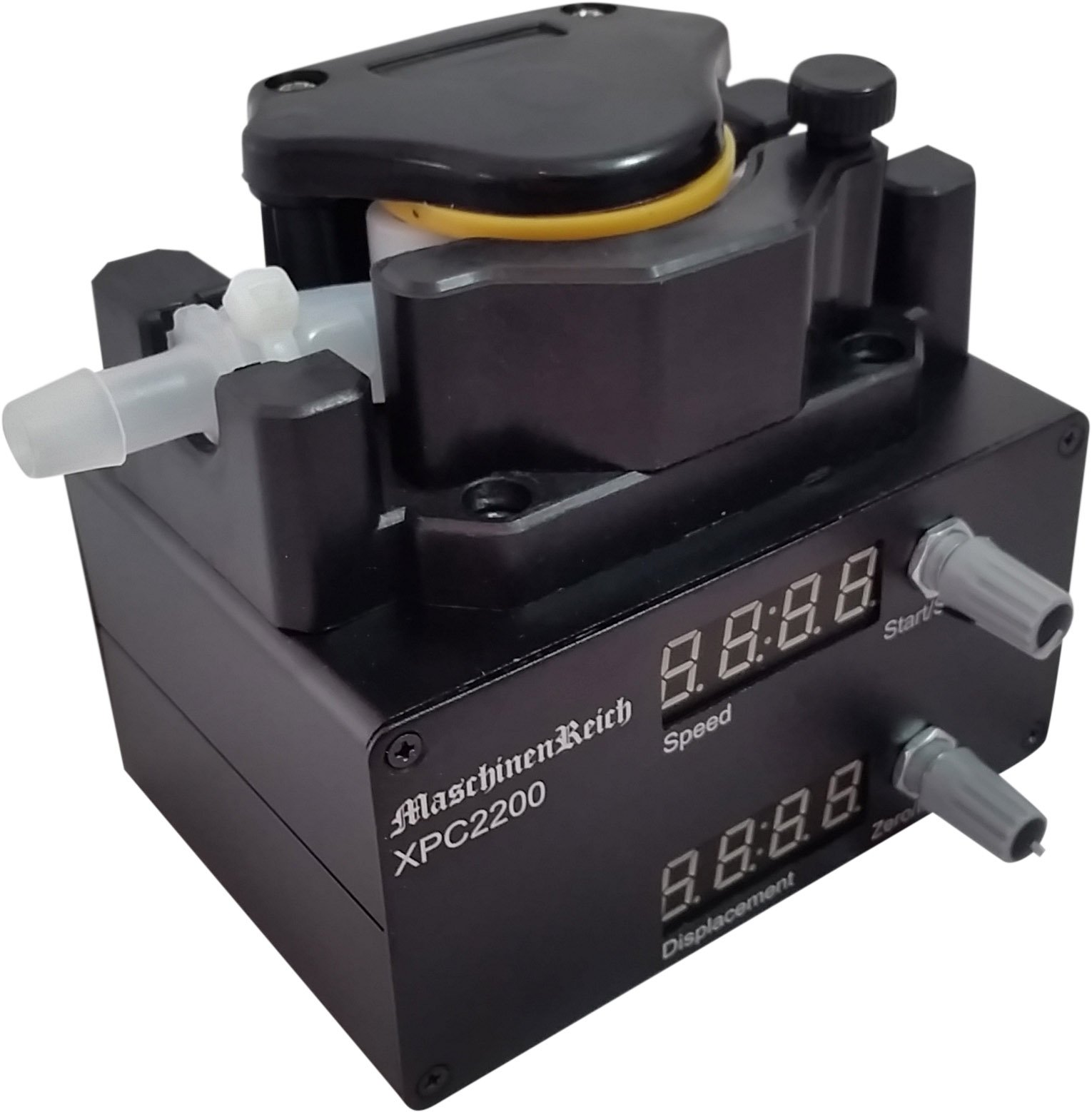 Peristaltic Metering Pump with Stepper Motor, Controller, and Power Supply 2200mL/min 100-265VAC