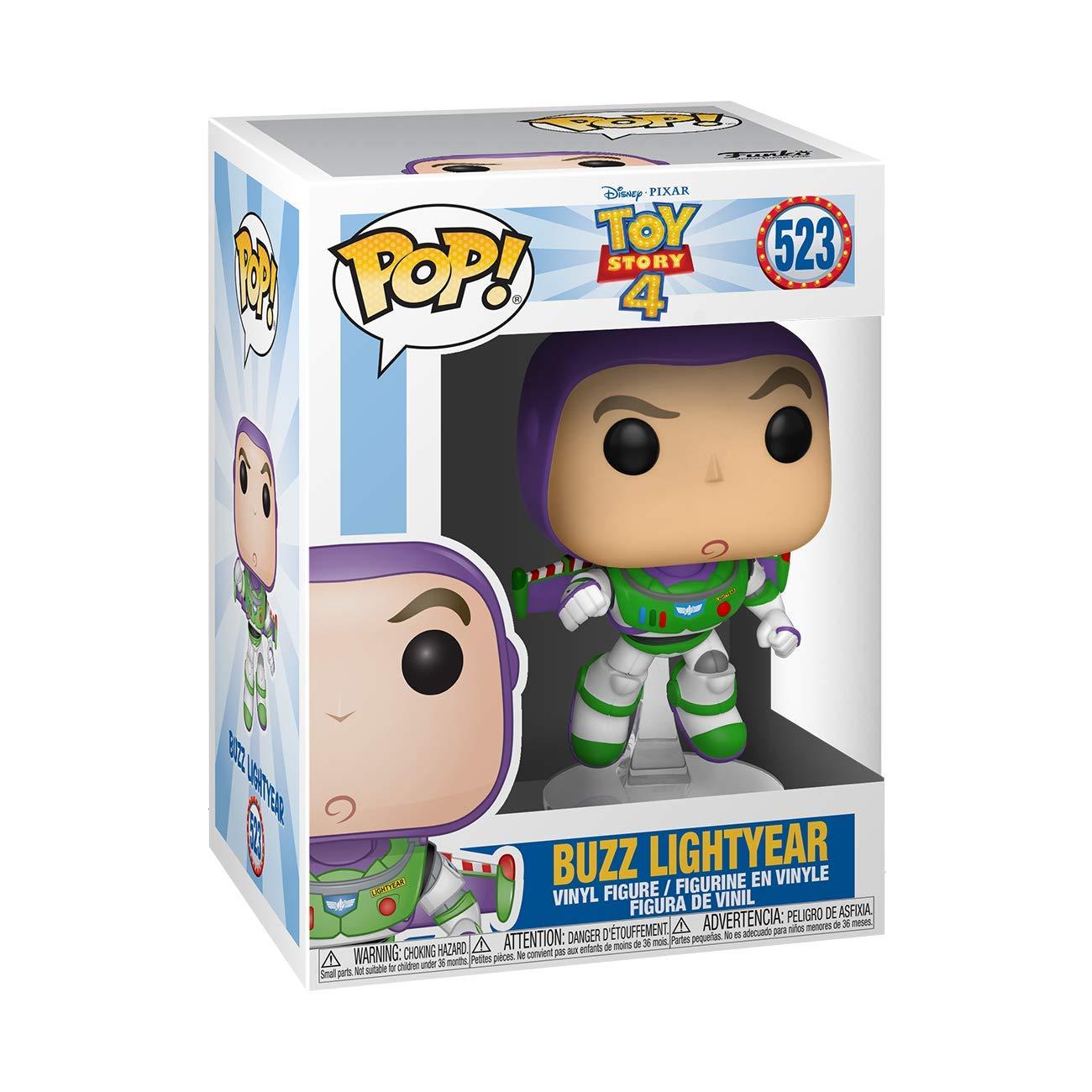 Funko- Pop Vinilo: Disney: Toy Story 4: Buzz Lightyear Figura Coleccionable, Multicolor (37390)