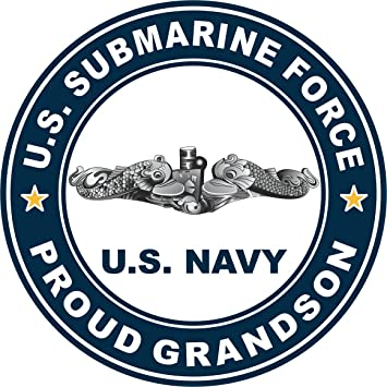 Proud of My Army Grandson Vinyl Car Window Decal Bumper Sticker US Seller
