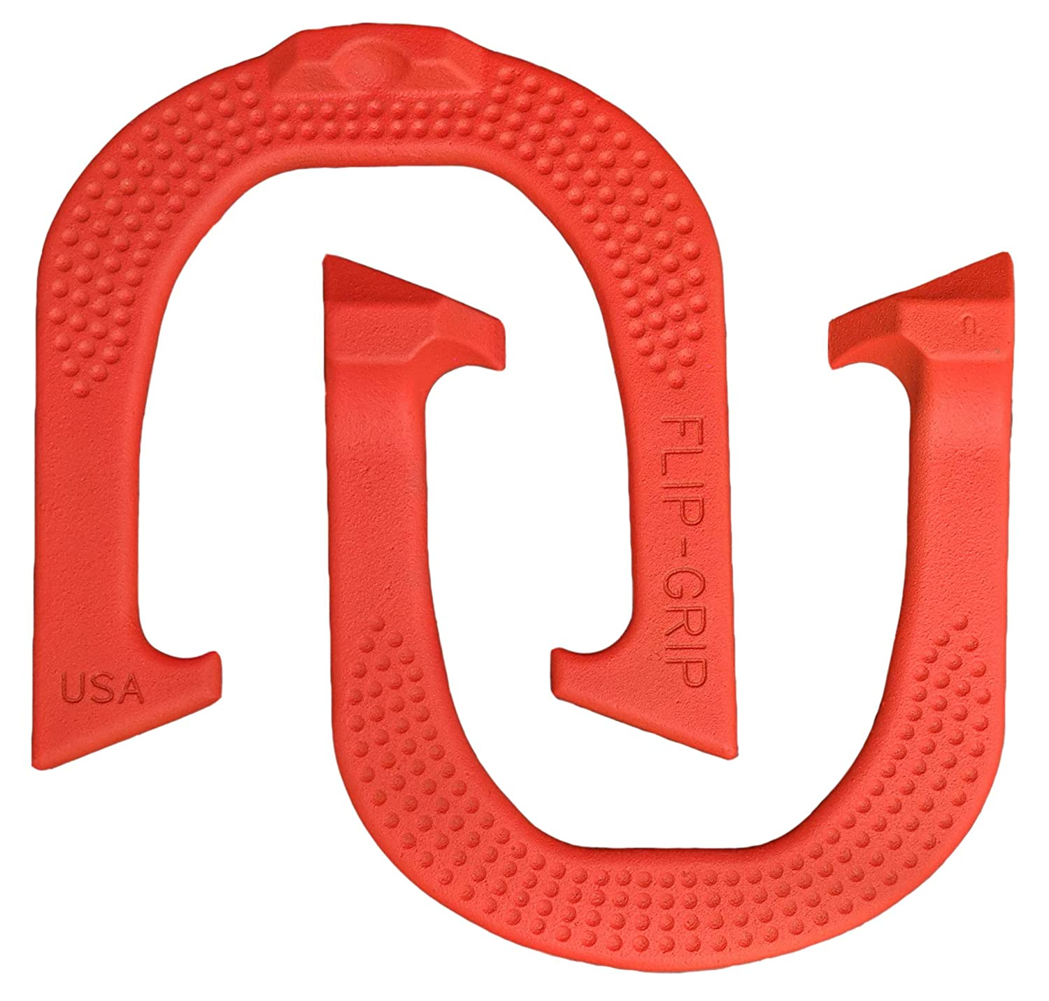 Made in The USA! Flip-Grip Professional Pitching Horseshoes