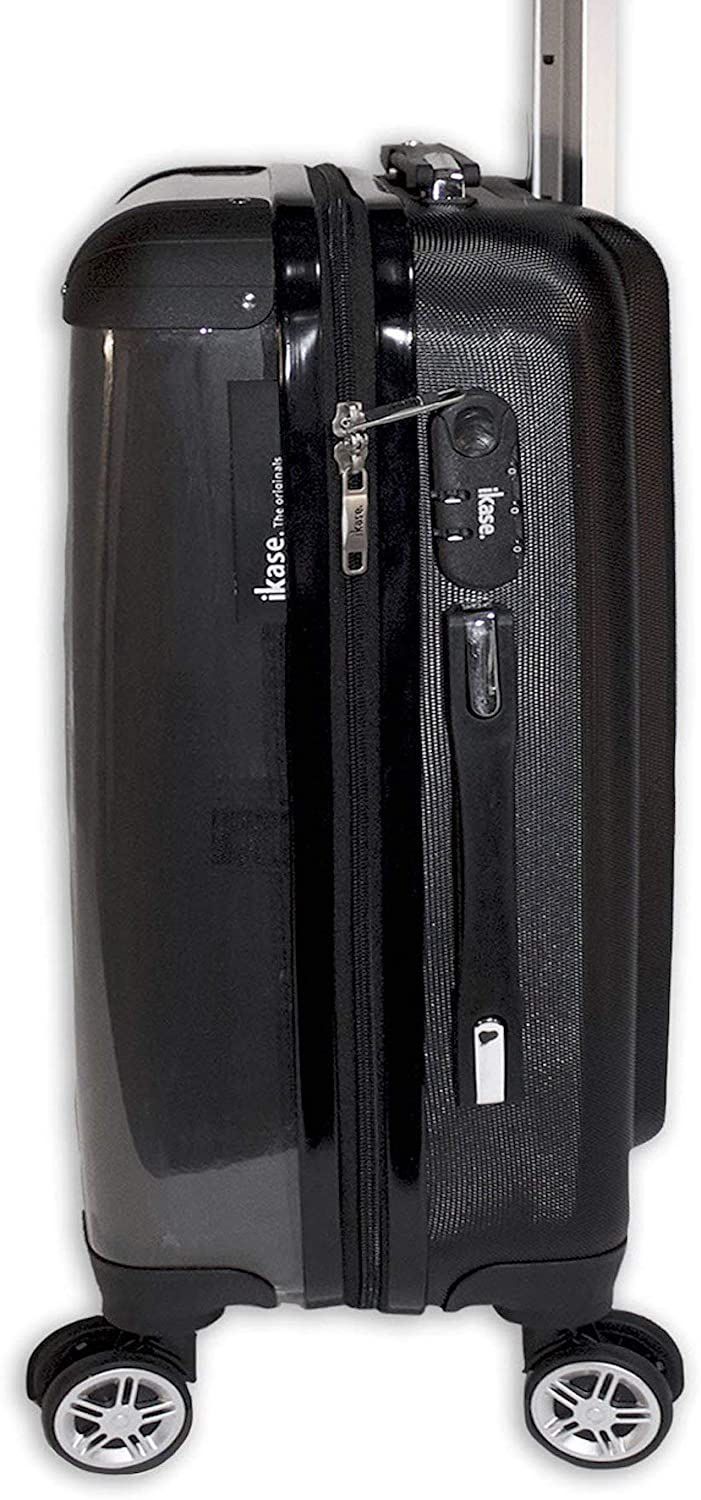Suitcase The World of The Dolphins Hardside Spinner Upright Luggage