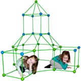 Funphix Fort 154 Pc Set for Supersized Glow in The Dark Fort Building - Encourages Teamwork, Stimulates Imagination for…