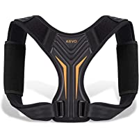 AEVO Compact Posture Corrector for Men and Women, Adjustable Upper Back Brace for Clavicle Support, Neck, Shoulder, and…