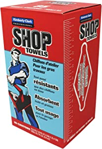Scott Products Box, Blue Shop Towels