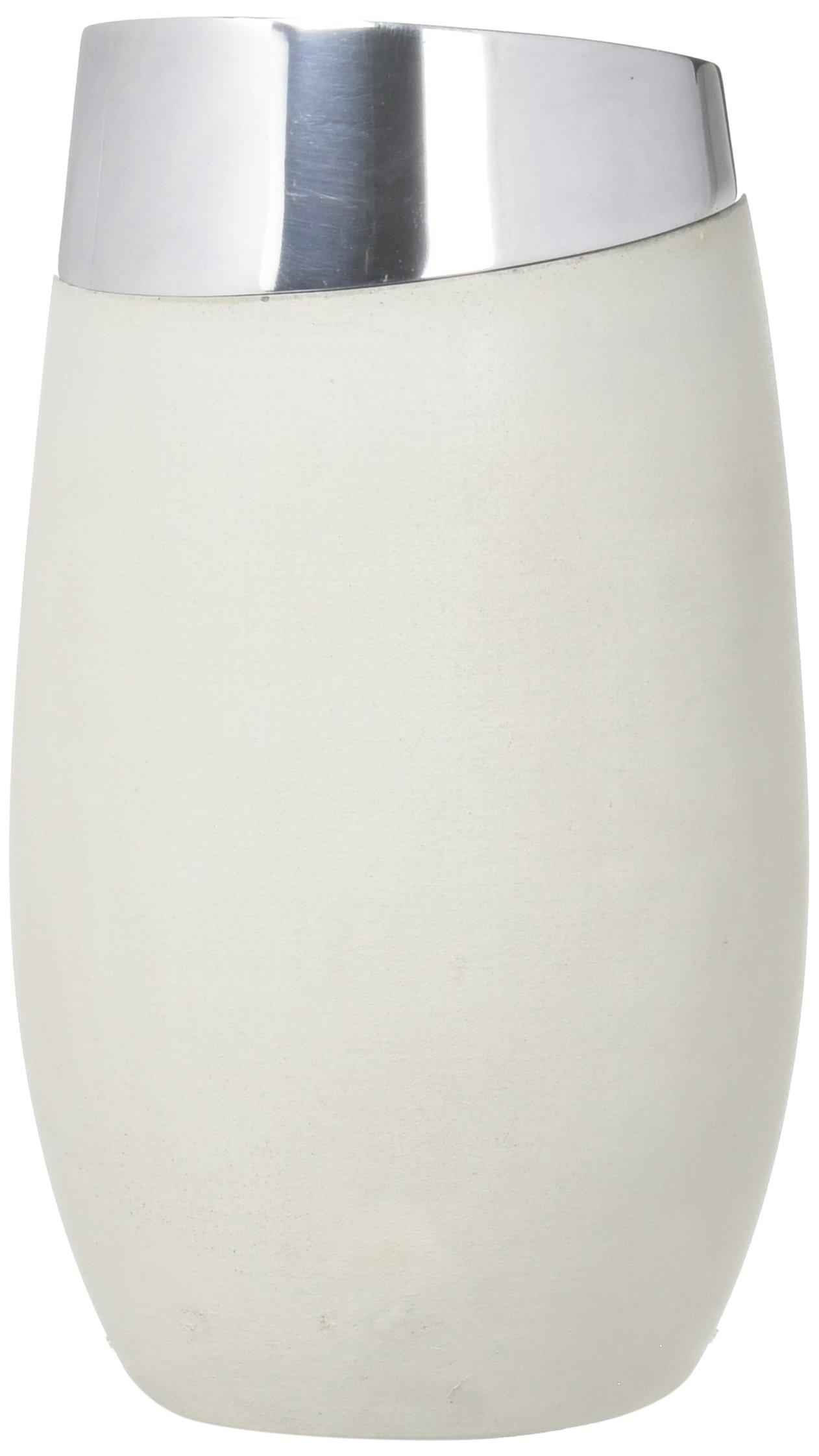 """Nambé MT0933 Forte Wine Chiller 5"""" D x 8.5"""" H Gray"""