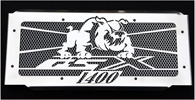 cache radiateur//grille de radiateur 1400 GSX Bulldog grillage alu