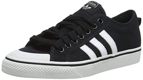 buy popular d4d6f 06e2d adidas Nizza, Scarpe da Ginnastica Uomo, Nero Core Black Ftwr Crystal White,