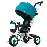 Fascol Triciclo Bebé Plegable 4 en 1 Trike Bicicleta para Niños de 6 Meses a 5 Años Máx 30 kg