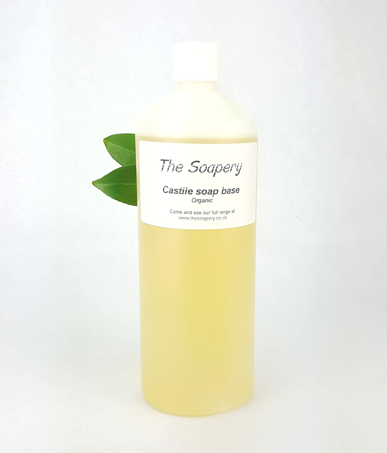 Castile Liquid Soap Base 1 Litre - Organic SLS SLES Sulphate and Paraben Free The Soapery
