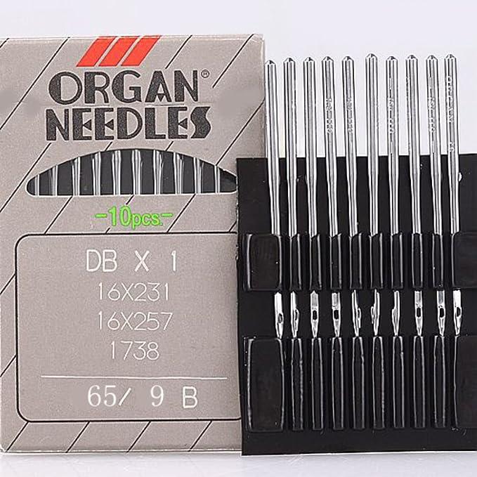 Amazon.com: 10pc órgano costura Aguja 16 x 231 16 x 257 DBX1 ...