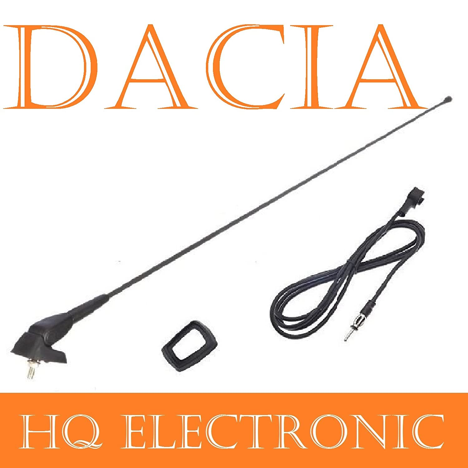 DACIA LOGAN//Lodgy Duster Sandero Roof Antenna with Antenna Base and Gasket