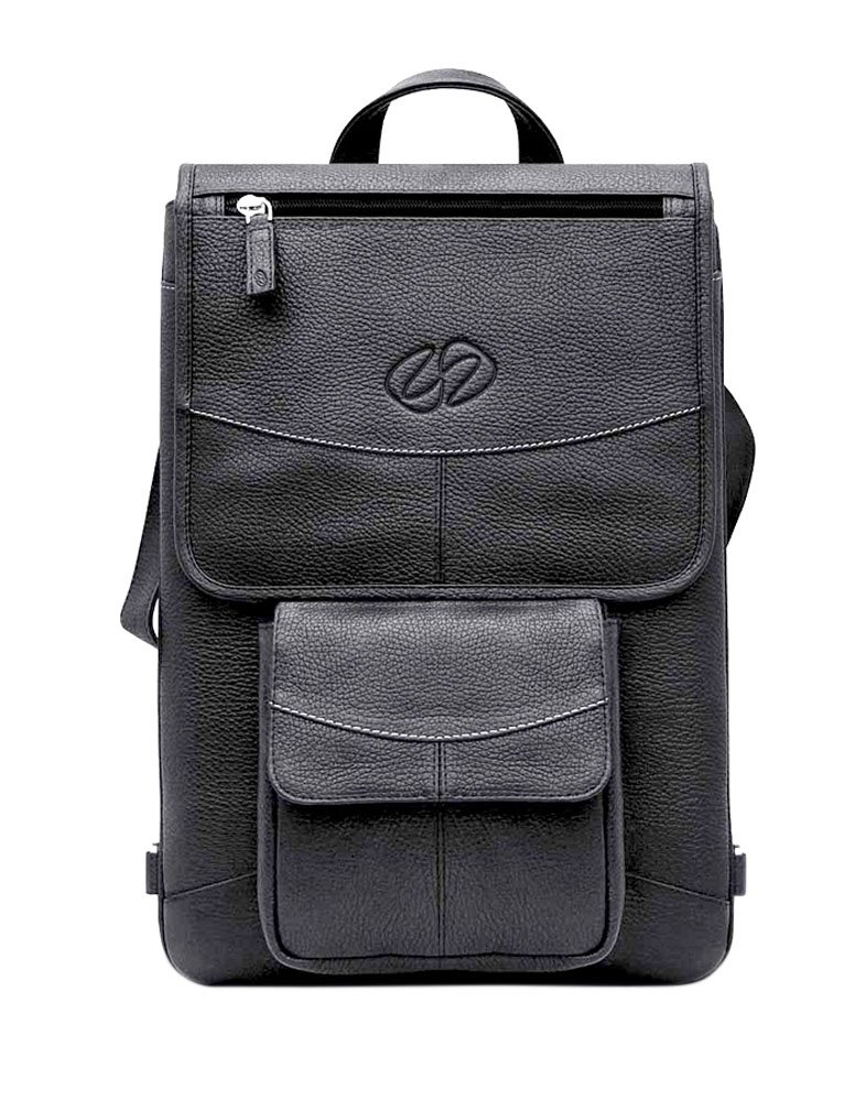 MacCase Premium Leather 13'' MacBook Pro Flight Jacket w/ Backpack Option by MacCase