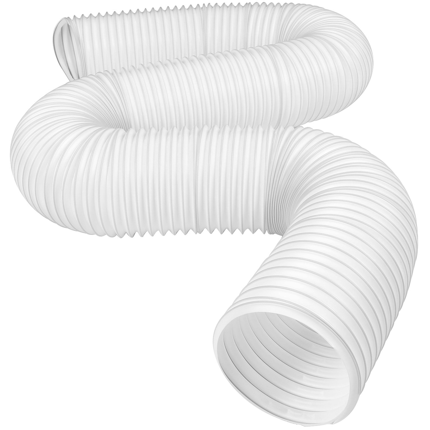 Hotop Portable Air Conditioner Exhaust Hose 5 Inch Diameter Counterclockwise (59 Inch Length)