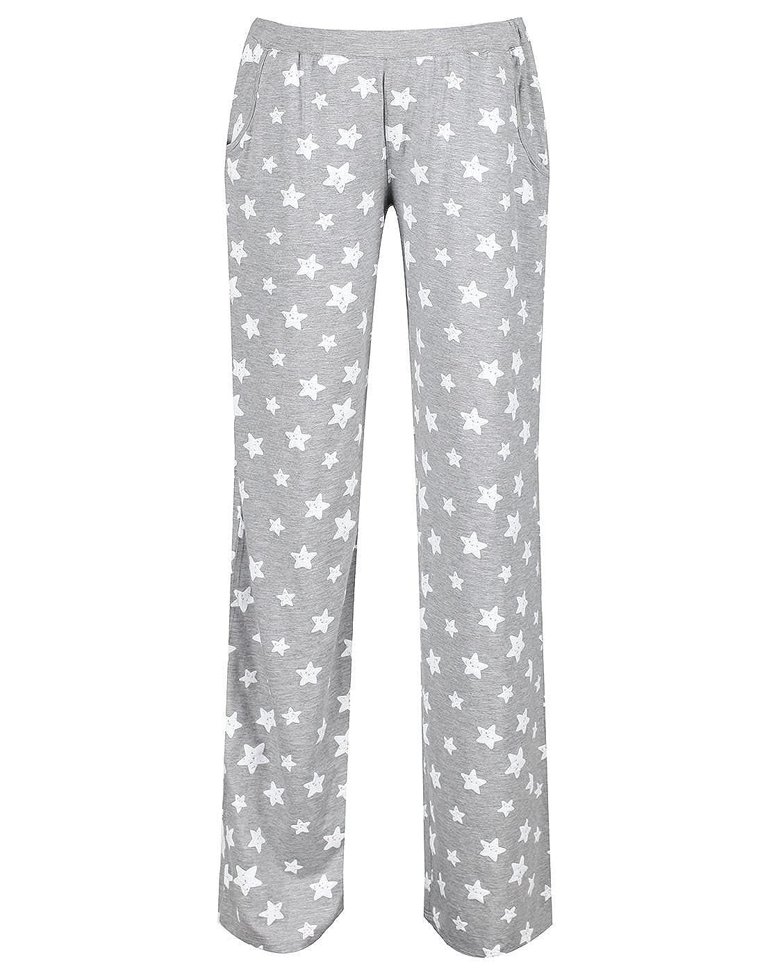 The Essential One - Mujeres Maternidad / Lactancia Pijamas Estrella - Gris - EOM213: Amazon.es: Ropa y accesorios