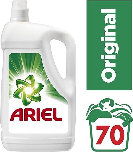 Ariel Original Detergente Líquido de 3850 ml - 70 Lavados: Amazon ...