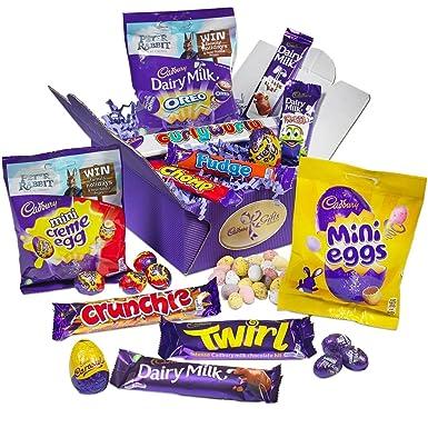 Cadbury easter treasure box amazon grocery cadbury easter treasure box negle Image collections