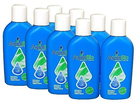 8 x Aqua Acondicionador Natural Ultra Permite de éviter Le basculement, Las Burbujas de Aire