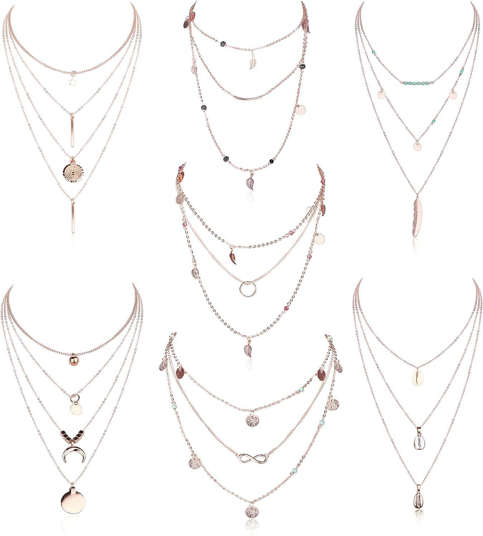 ORAZIO Layered Necklace...