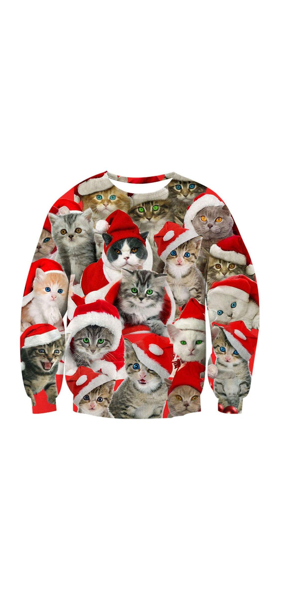 Unisex Ugliest Christmas Sweatshirt D Unique S-xl