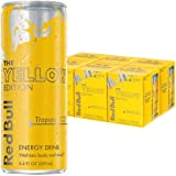 Red Bull Energy Drink Tropical 24 Pack of 8.4 Fl Oz, Yellow Edition (6 Packs of 4)